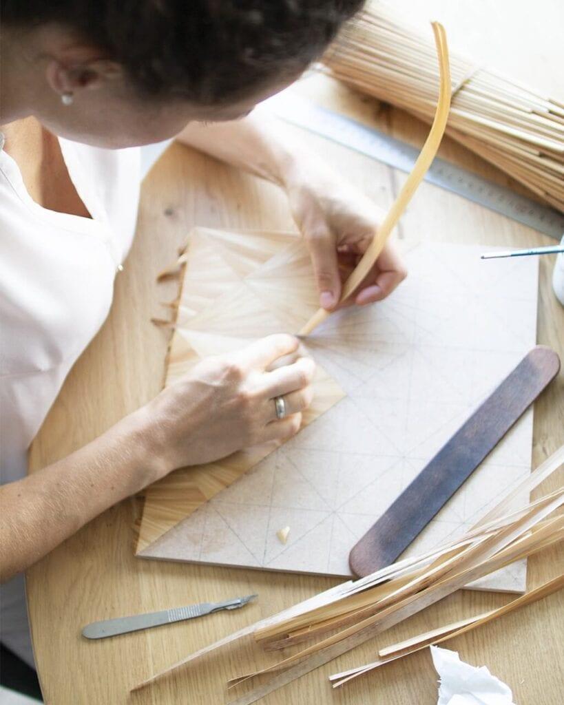 Markieteria słomiana, czyli dzieła sztuki od Atelier Maison