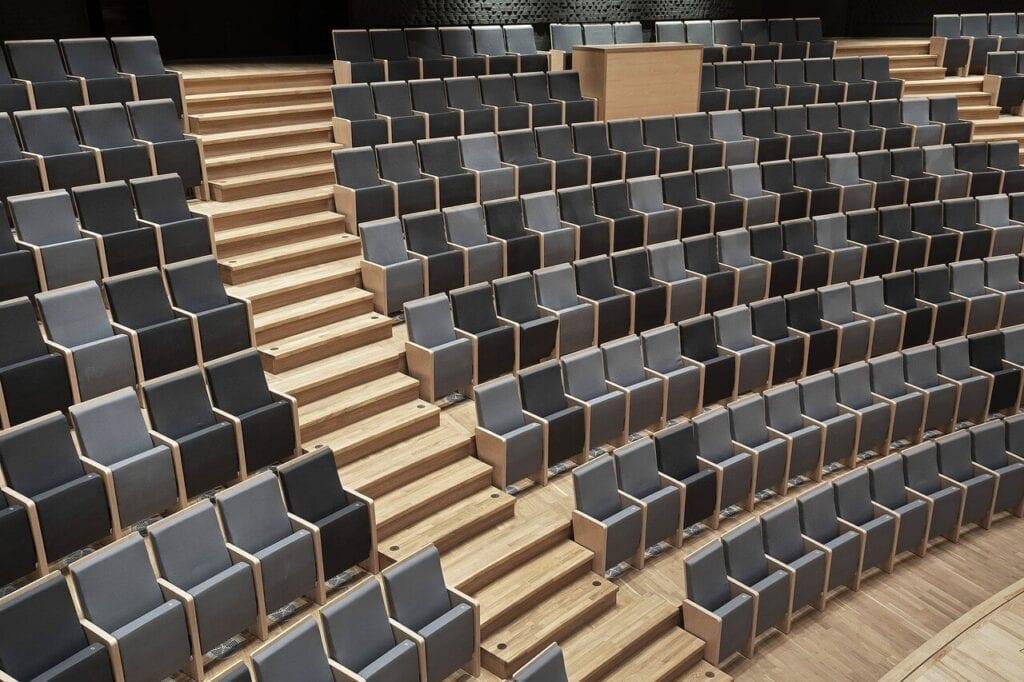 Nowe życie siedziby Zespołu Państwowych Szkół Muzycznych nr 1 w Warszawie - projekt Forum by Nowy Styl - Tomasz Konior