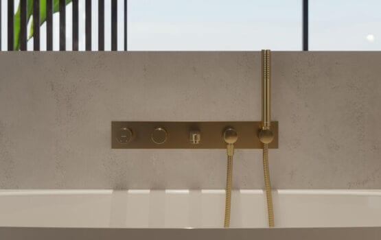 Omnires Contour – baterie łazienkowe inspirowane minimalizmem