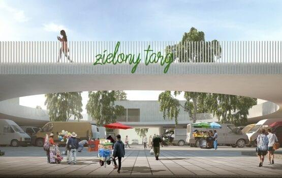 Projekt nowoczesnego targowiska w Ciechanowie