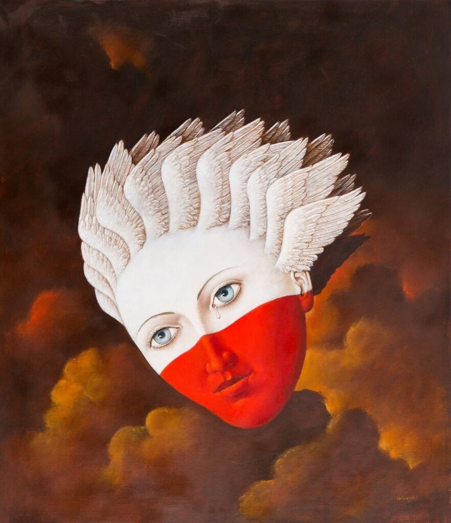Rafał Olbinski - La Pologne est une femme
