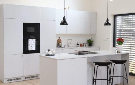 Skandynawski minimalizm w domu w czeskiej wsi Němčice