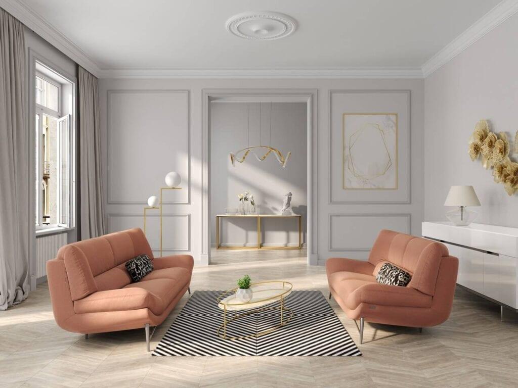 Sofa Carmen od marki Kler - subtelna, elegancka i nowoczesna