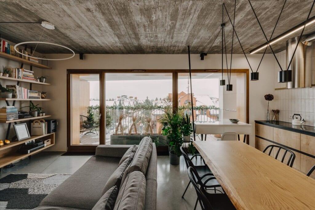Syta - wyjątkowe mieszkanie w Wilanowie od Mili Młodzi Ludzie - zdjęcie ONI Studio