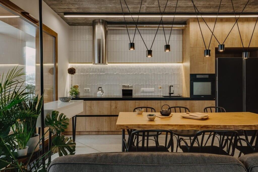 Syta - wyjątkowe mieszkanie w Wilanowie od MML - zdjęcie ONI Studio