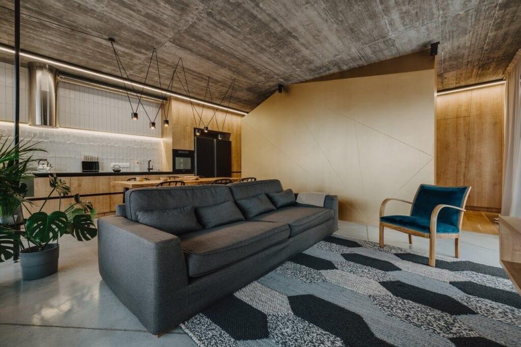 Mieszkanie w industrialnym stylu