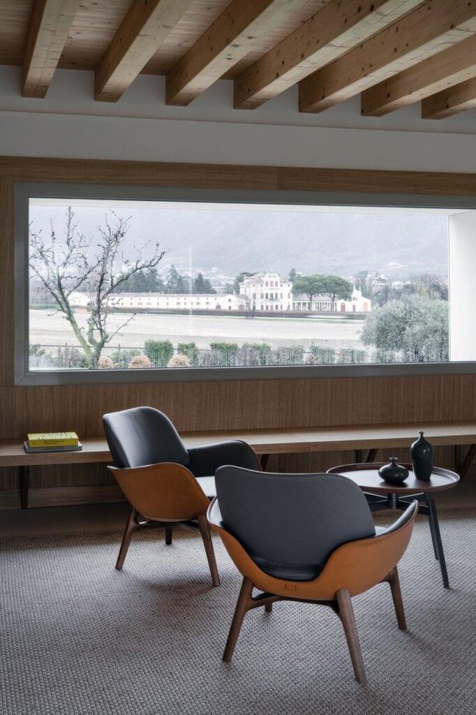 Willa w Bassano del Grappa projektu Francesco Pascali Architetto - foto Andrea Martiradonna
