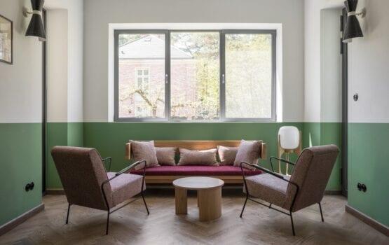 Wnętrza willi Bauhaus w Konstancinie-Jeziornie projektu Loft Kolasiński