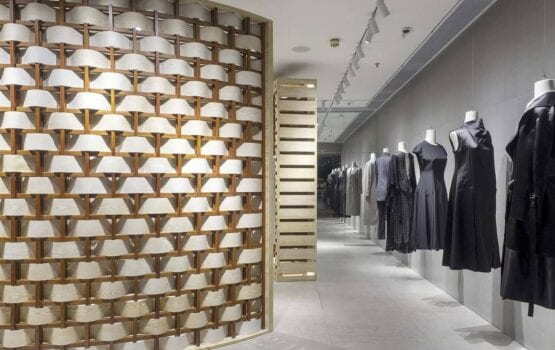 Butik chińskiej marki odzieżowej Hanscool
