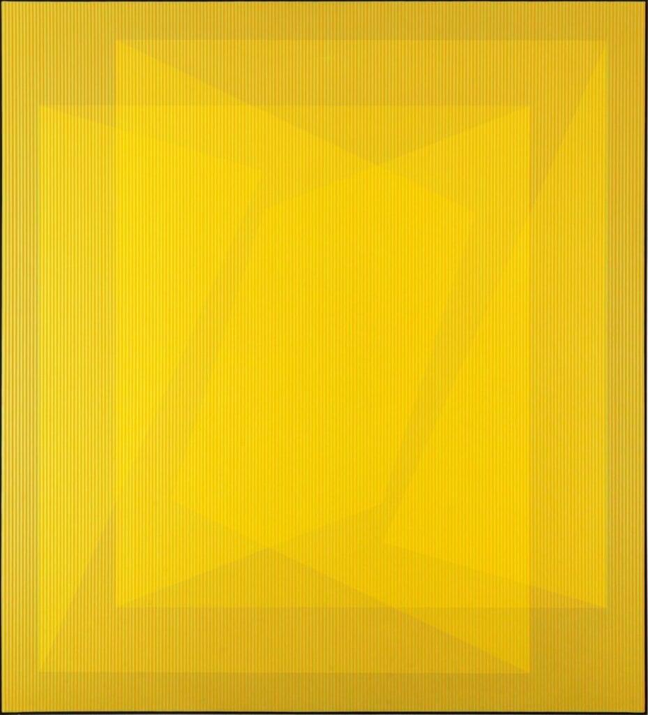 """""""Yellow and Gray"""" - wyjątkowa wystawa w DESA Unicum - Julian Stańczak"""