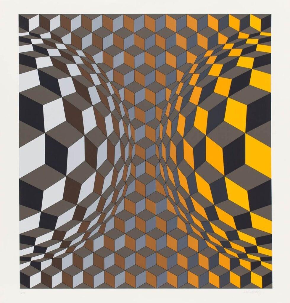 """""""Yellow and Gray"""" - wyjątkowa wystawa w DESA Unicum - Victor Vasarely"""