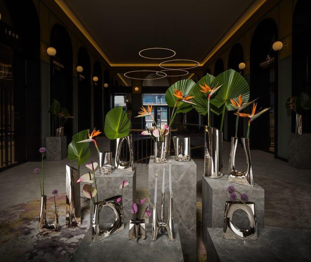 Zieta Vases - Triglav Candelabrum - foto Ernest Winczyk