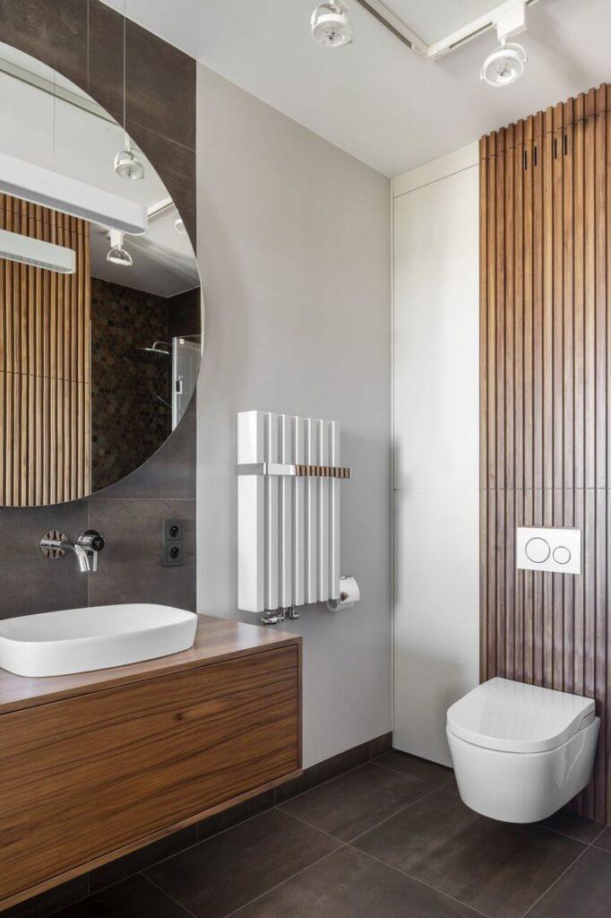 140-metrowy apartament na Mokotowie projektu MGN Pracownia Architektoniczna