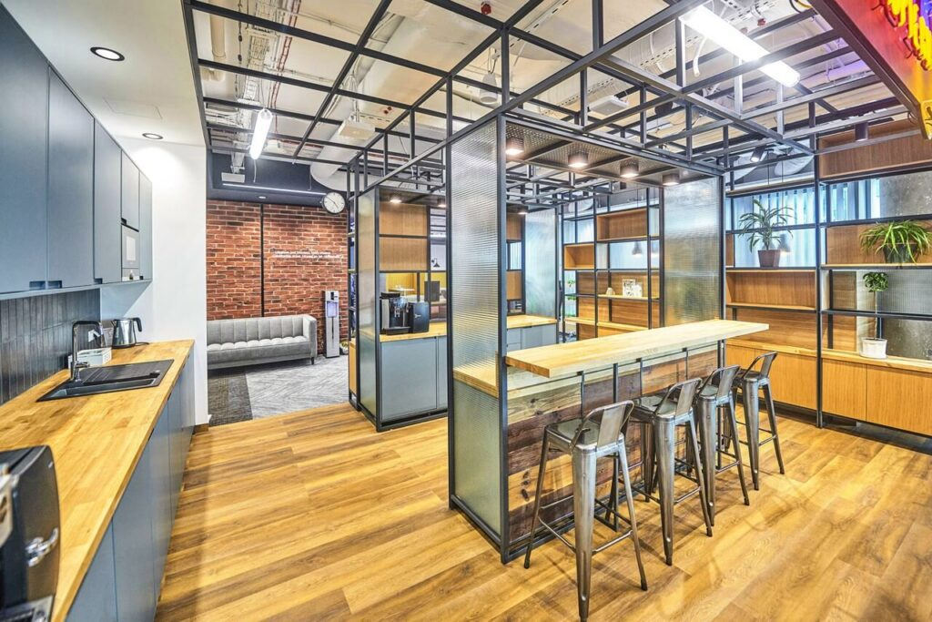 Biuro firmy farmaceutycznej projektu Massive Design - foto CBRE GWS