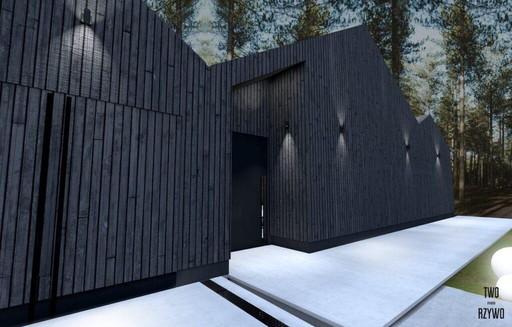 DOM AZYL - budynek, który pojawia się i znika - projekt TWORZYWO STUDIO