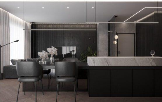 Funkcjonalny i przytulny projekt od Moovin Interiors