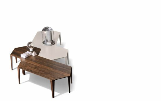 Geometryczne stoliki kawowe marki Zanette