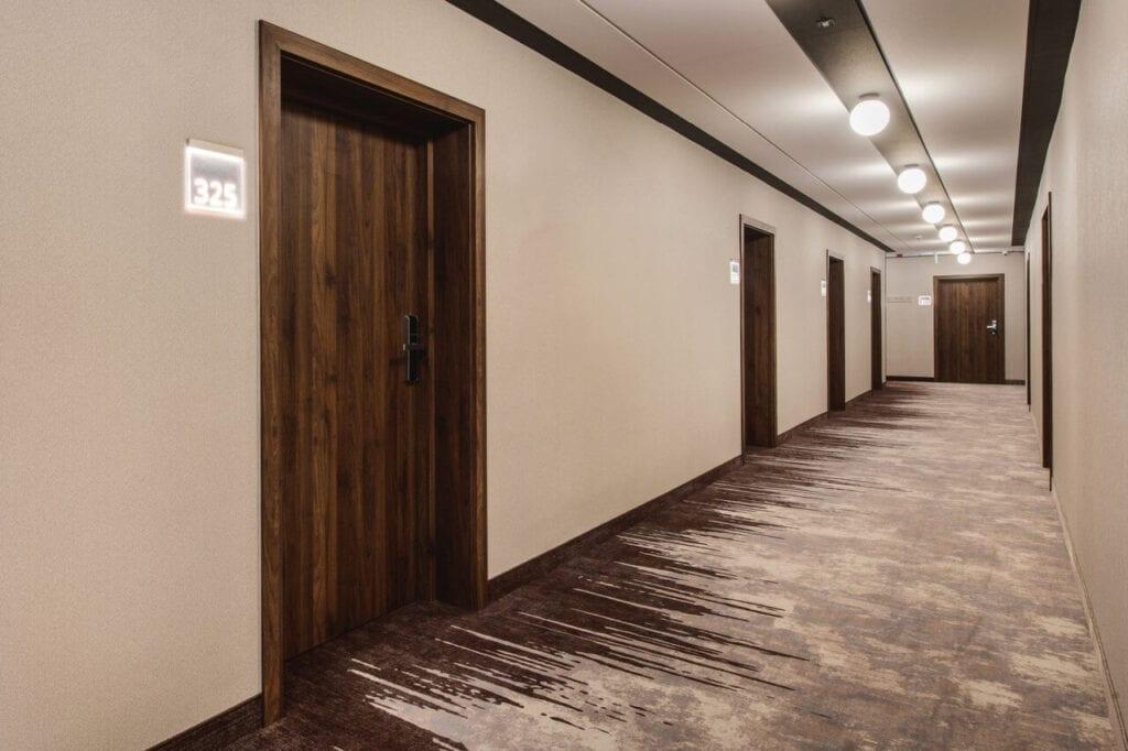 Wnętrza hotelu Kopernik w Olsztynie - renowacja projektu pracowni Tremend