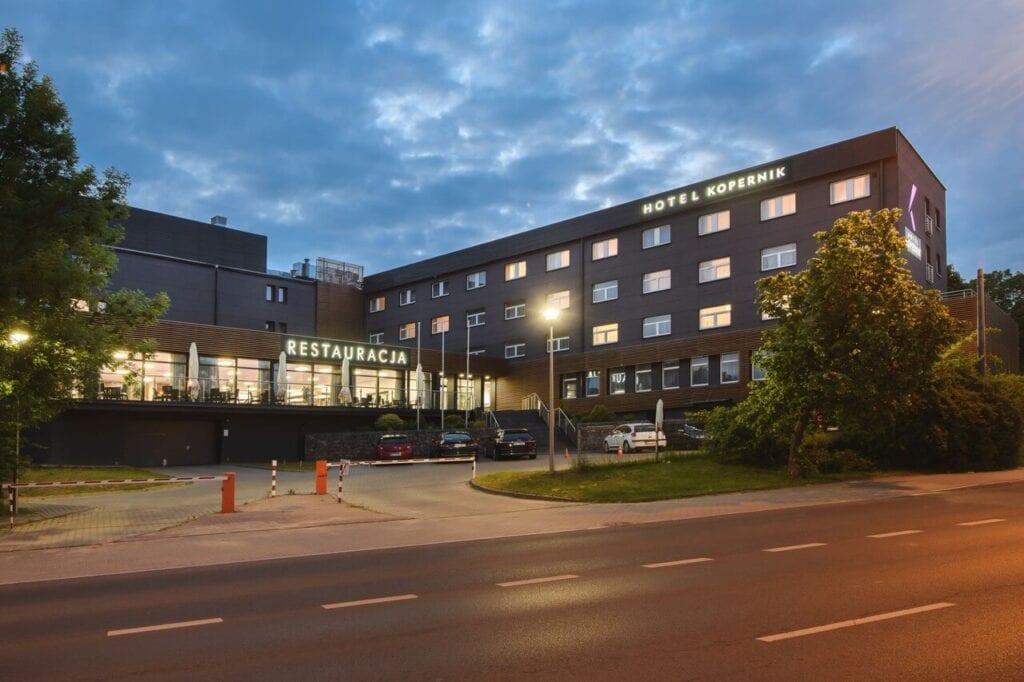 Hotel Kopernik w Olsztynie - renowacja projektu pracowni Tremend