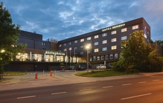 Hotel Kopernik w Olsztynie – w stronę natury