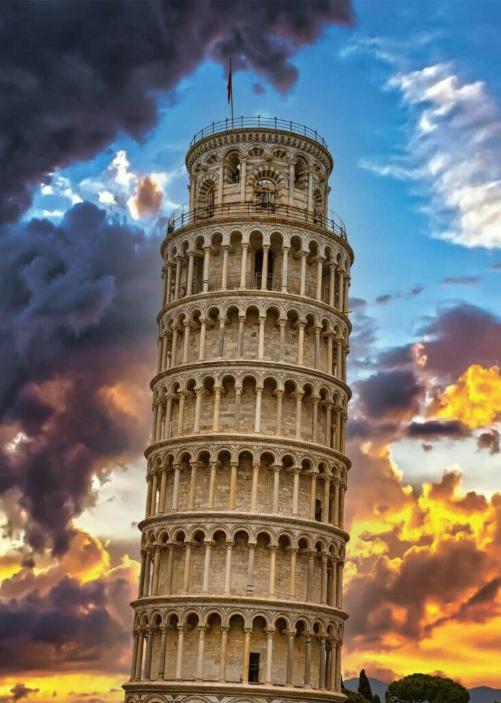Krzywa wieża w Pizie - historia i ciekawostki - foto Darryl Brooks - Unsplash