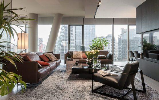 Luksusowy apartament w wieżowcu Cosmopolitan od de novo