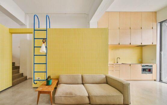 MG08 – elastyczne mieszkanie projektu BURR Studio