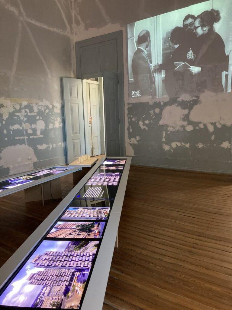Wystawa Patchwork: The Architecture of Jadwiga Grabowska-Hawrylak