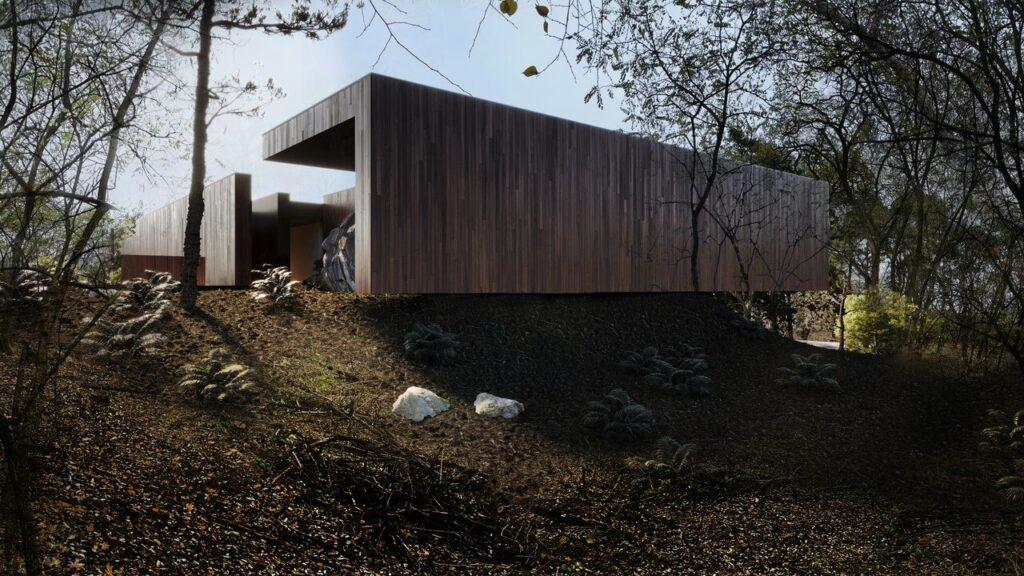 Dom między skałami - projekt REFORM Architekt