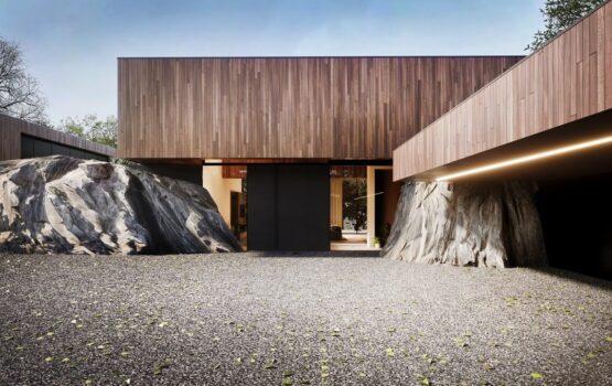 RE: ON THE ROCK HOUSE – dom między skałami