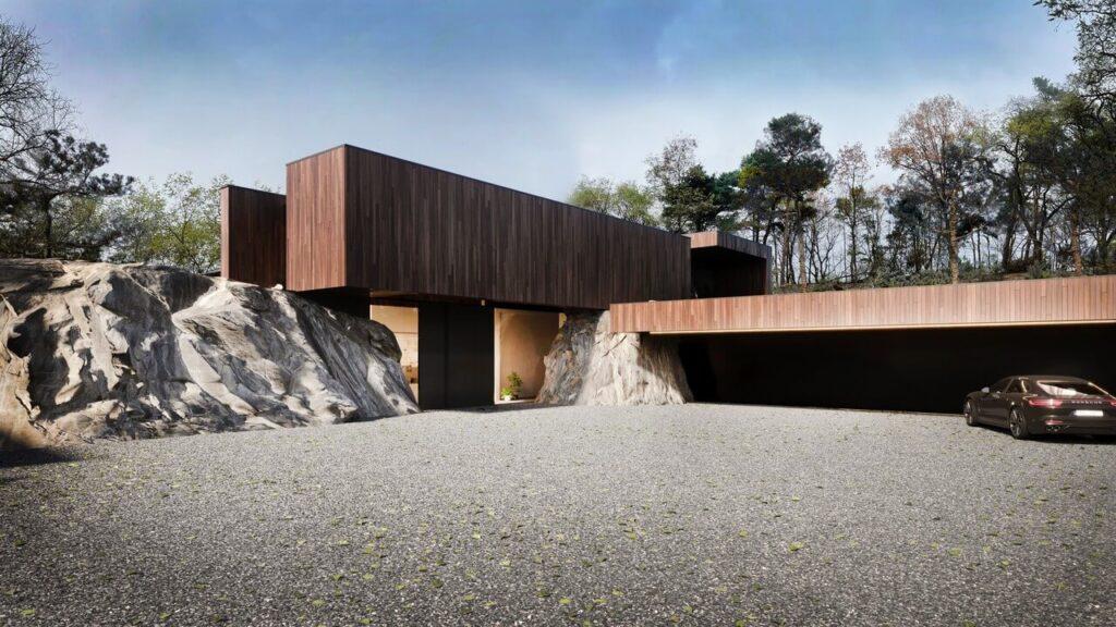 RE: ON THE ROCK HOUSE - dom między skałami