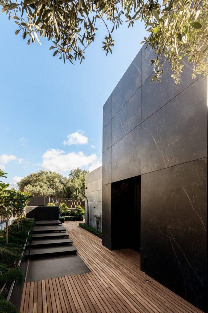 Rosh Hanikra - willa marzeń w Izraelu - projekt Moshe Zion