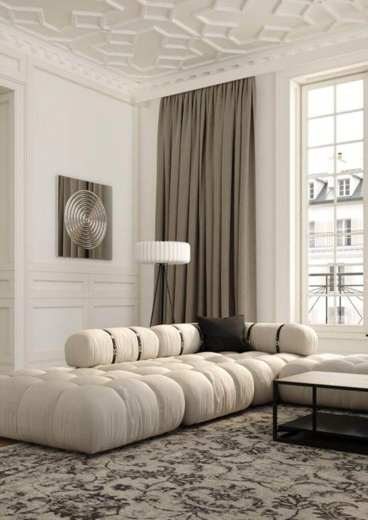 Sofa - królowa salonu. Przegląd modeli marki Absynth - sofa GIrO