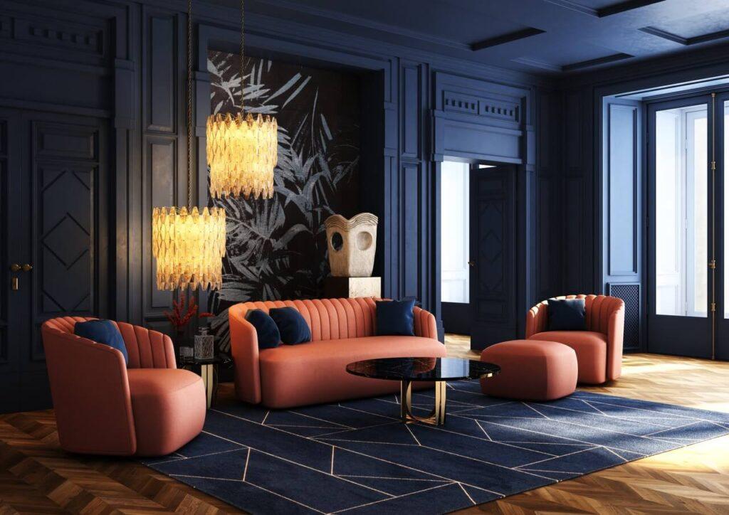 Sofa - królowa salonu. Przegląd modeli marki Absynth - sofa Laroc