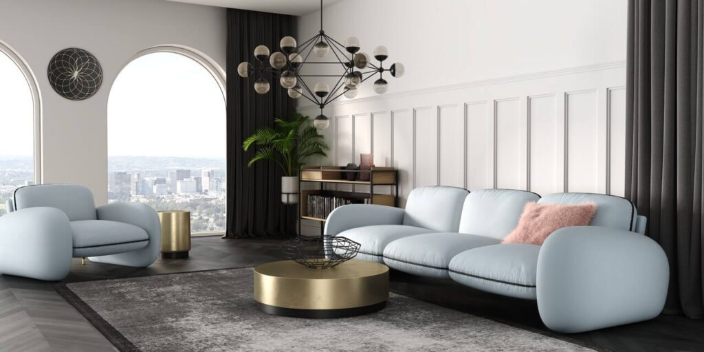 Sofa - królowa salonu. Przegląd modeli marki Absynth - Makaronik