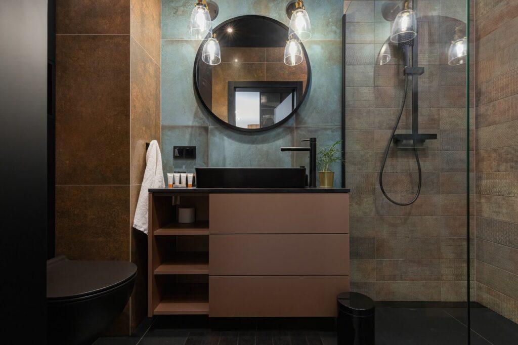 40-metrowe mieszkanie w Gdańsku w cieniu stoczniowych żurawi - projekt Aneta Subda - foto Renters