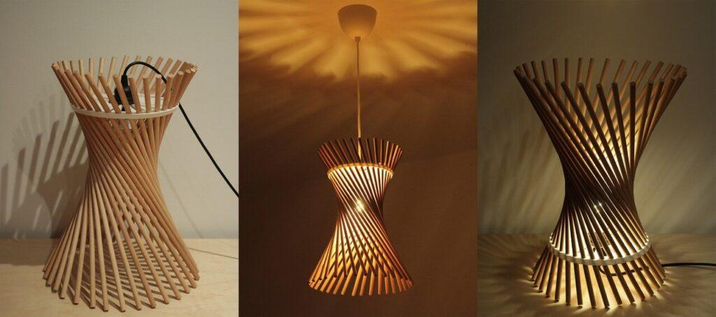Designerskie lampy marki Sielacz - rozświetl swoje wnętrze - lampa Tornado