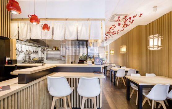Hikari KOI Sushi na Sadybie – projekt W+M Architektura