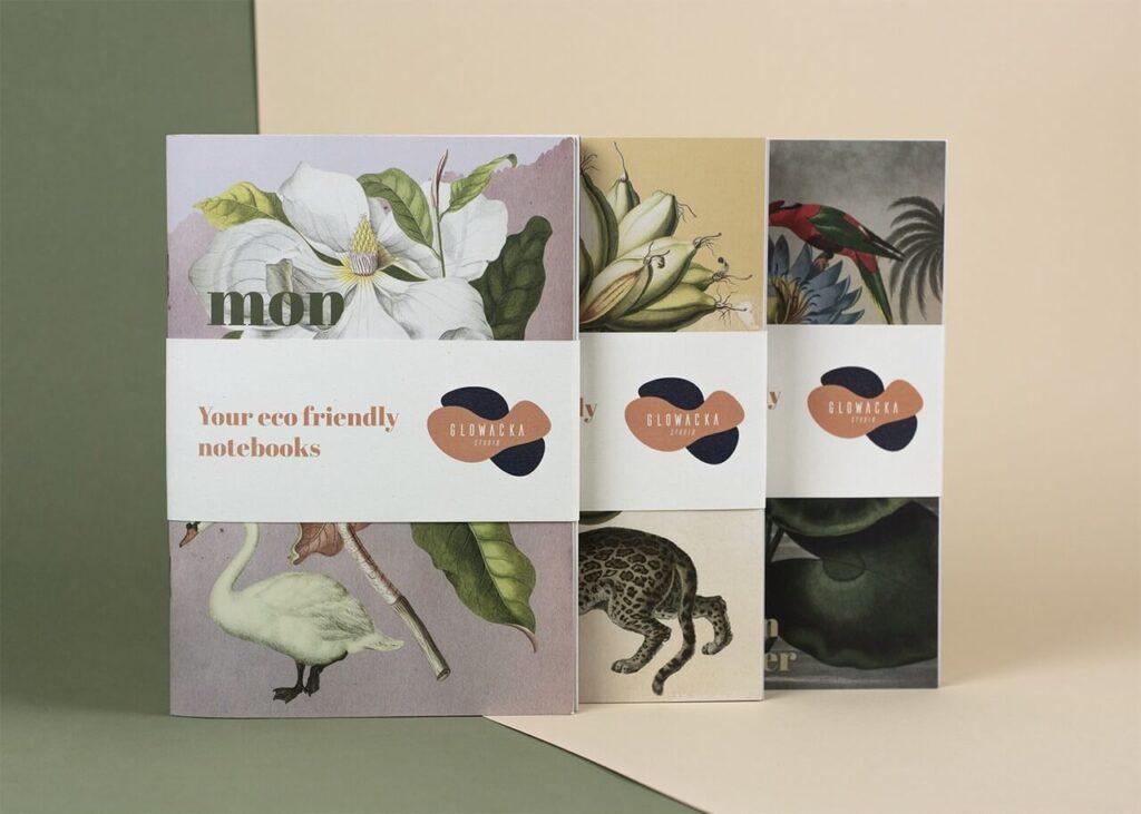Klucz do emocji - sztuka wizualna od Głowacka Studio- zeszyty