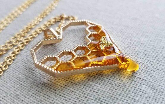 Oryginalna miodowa biżuteria od Charming Little Fox