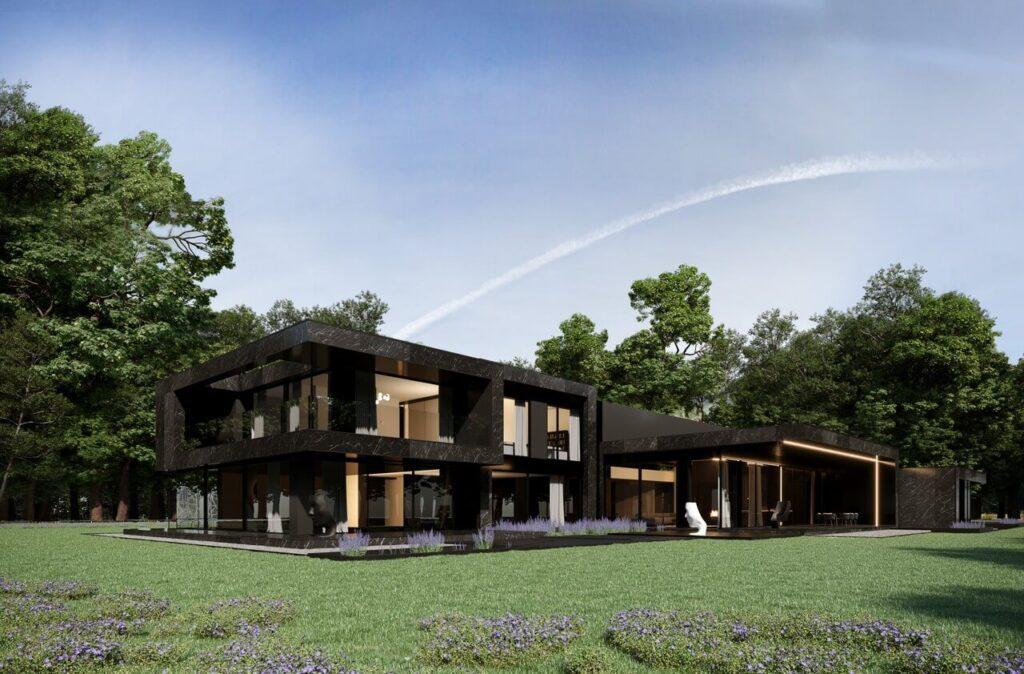 RE: NERO HOUSE - głęboka czerń w projekcie REFORM Architekt - Marcin Tomaszewski