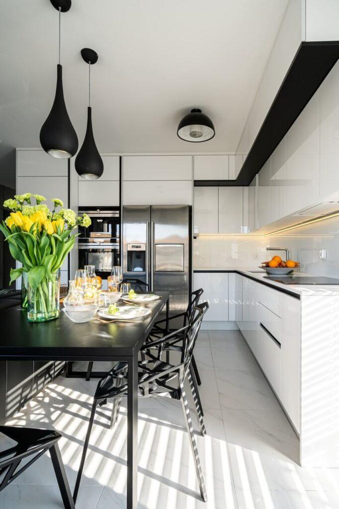 Kuchnia w stylu Black & White