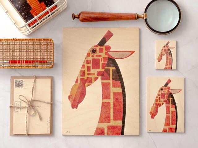 TRŁ WROCŁAW! - wystawca - miwoodo - Seria interaktywnych kartek, plakatów i magnesów ze zwierzętami