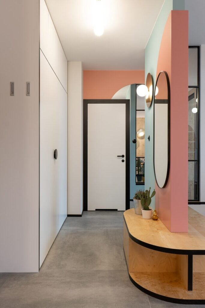 Mieszkanie dla młodej pani fotograf projektu pracowni KODO