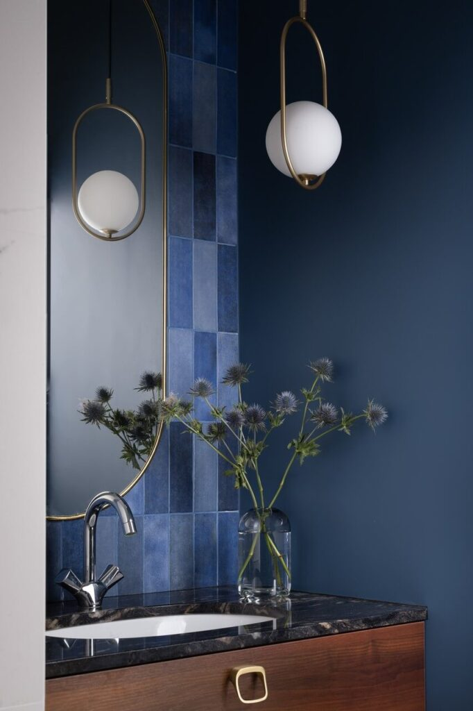 Stylizacja łazienki w projekcie Nubo Interior