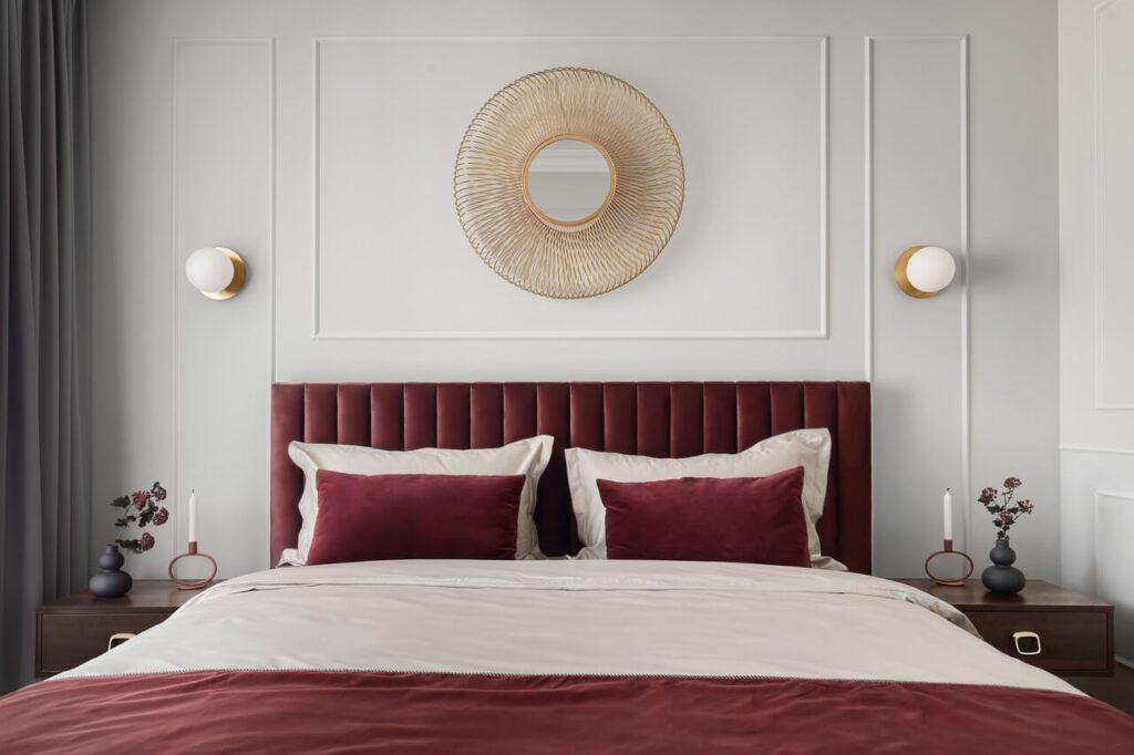 Aranżacja sypialni w projekcie Nubo Interior