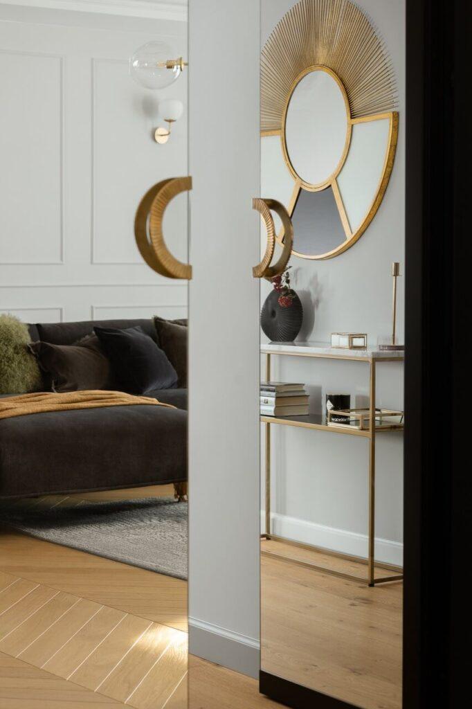Stylizacja wnętrza - 160-metrowy apartament - projekt Nubo Interior