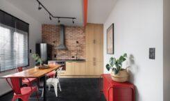 30-metrowe studio w 100-letniej kamienicy od Good Vibes Interiors