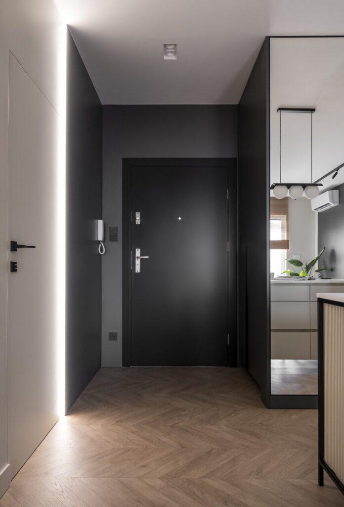 38-metrowe mieszkanie w sercu Zielonej Góry od Gołaska Studio - foto Krzysztof Strażyński