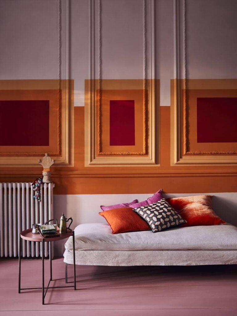 Annie Sloan - Salon - Chalk Paint in Antoinette, Barcelona Orange, Emperor Silk